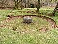 Circular buddle, Ore dressing plant below Cwm Bychan mine - geograph.org.uk - 1382506.jpg