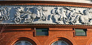 Circus Building, Copenhagen - The frieze