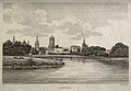 City of Oxford; view from the Cherwell. Etching by J. Roffe. Wellcome V0014236.jpg