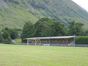Fort William F.C. - Currently the main and only stand at Claggan Park.