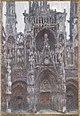 Claude Monet, The Portal of Rouen Cathedral, le Portal vu de face.jpg