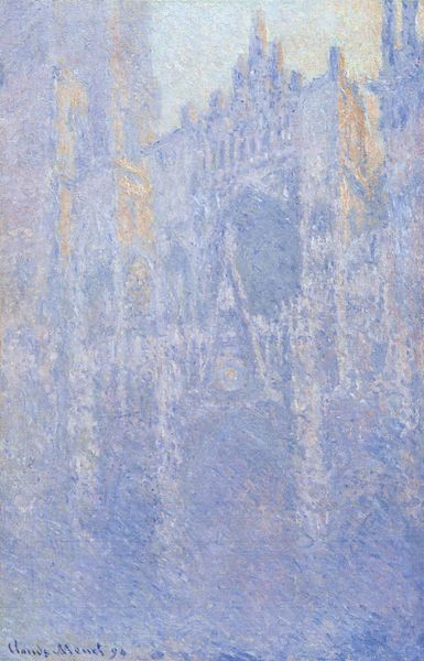 Fájl:Claude Monet - Rouen Cathedral, Facade (Morning effect).JPG