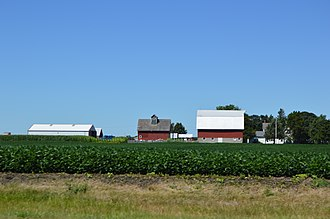 Clayton Township, Woodford County, Illinois - Farm west of Benson