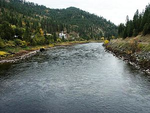 Clearwater River (Idaho) - Clearwater River near Greer Ferry