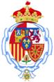 Coat of arms of Infanta Margarita, Duchess of Soria.png