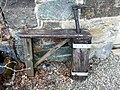 Cobbler's last at Nant-y-coy mill - geograph.org.uk - 1846883.jpg
