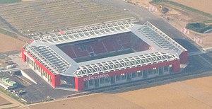 Opel Arena (stadium) - Image: Coface Arena Luftaufnahme