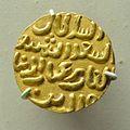 Coin - Gold - 1325-1351 CE - Muhammad bin Tughluq Reign - ACCN IM 300 - Indian Museum - Kolkata 2014-04-04 4274.JPG