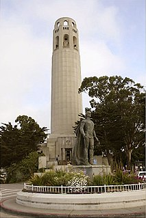 Coit Tower observation tower