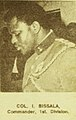 Col. I. Bissala Commander, 1st. Division. ASC Leiden - Rietveld Collection - Nigeria 1970 - 1973 - 01 - 093 New Nigerian newspaper page 7 January 1970. End of the Nigerian civil war with Biafra (cropped).jpg