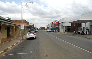 Coligny, North West - Street in Coligny