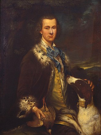 Thomas Dongan, 2nd Earl of Limerick - Portrait of Dongan from Castleton Manor, Staten Island