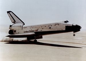 Aerobraking - Aerodynamic braking in space shuttle landings.