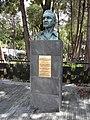 Comandante John Riley 1848, bust on pedestal, Mexico.jpg