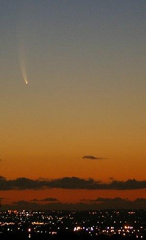 C/2006 P1 - Image: Cometperth 3