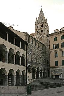 Prè neighbourhood in Genoa, Italy