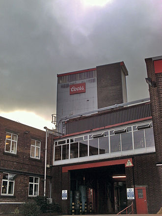 Coors Brewing Company - Image: Coors or bass brewery Tadcaster