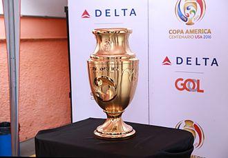 Copa América Centenario - The trophy