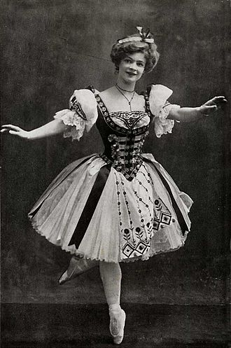Adeline Genée - Genée as Swanilda in Coppélia