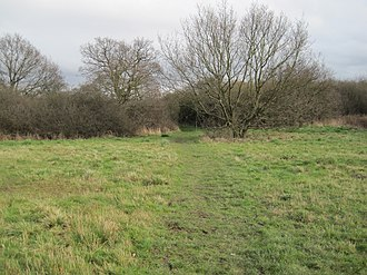 Copthall South Fields - Image: Copthall South Fields path