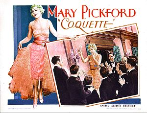 Coquette (film) - Lobby card