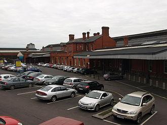 Cork Kent railway station - Cork Kent railway station in 2009