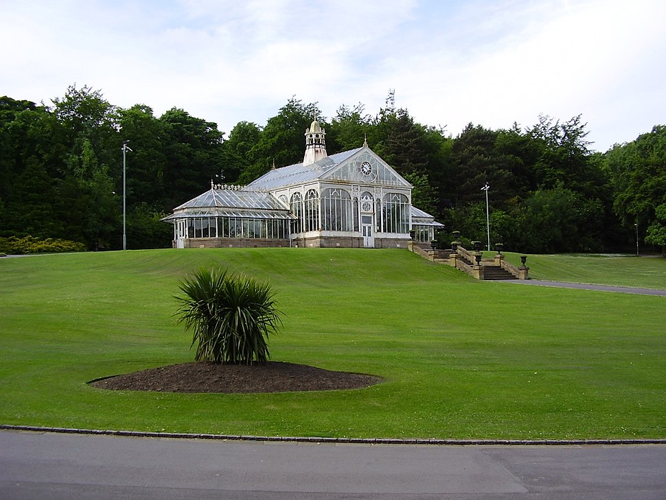 Corporation Park Conservatory Blackburn Lancashire
