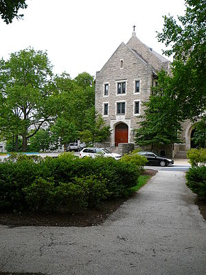 Corr Hall on the campus of Villanova University.