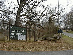Corydon, Indiana - Battle of Corydon Memorial Park