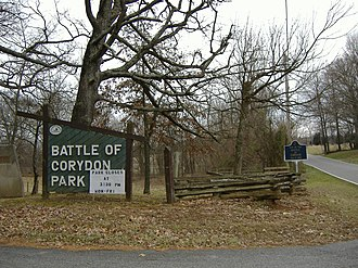 Corydon, Indiana - Battle of Corydon Memorial Park