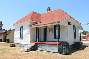 Cotton Belt Railroad Industrial Historic District - Image: Cotton Belt Railroad Industrial Historic District 3