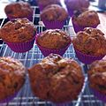 Couldnt find loaf pan, hence banana bread muffins. (5613724687).jpg