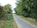 Country lane on an old sea bank north of Clenchwarton - geograph.org.uk - 1506178.jpg