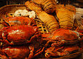 Crabs and lobsters in a restaurant in Joo Chiat, Singapore - 20080904.jpg