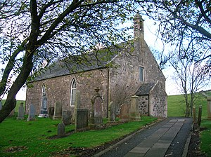 Gilbert Burns (farmer) - Craigie Church where Gilbert and Jean were married in 1791.