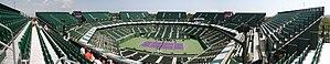 Tennis Center at Crandon Park - Image: Crandon Park Tennis Center Panorama
