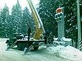 Crane truck in Belarus.jpg