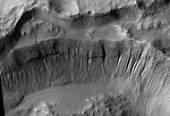 Crater wall inside Mariner Crater.JPG