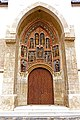 Croatia-00537 - St. Mark's Church Entrance (9314591921).jpg