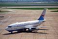 Croatia Airlines Boeing 737-230; 9A-CTA@LHR;13.04.1996 (4992968728).jpg