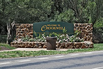 Crookwell, New South Wales - Image: Crookwell Town Entry West