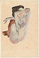 Crouching Nude in Shoes and Black Stockings, Back View MET DP-13958-001.jpg