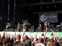I Cruachan al Global East Rock Festival di Kiev (Ucraina) nel 2010.