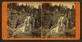 Crystal Cascades of Cascade Creek, 129 feet high, by I. W. Marshall.png
