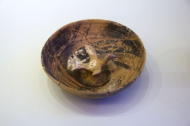 Bird in bowl, Palaikastro