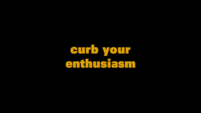 Picture of a TV show: Curb Your Enthusiasm