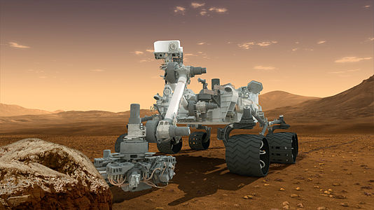 Curiosity - Robot Geologist and Chemist in One!