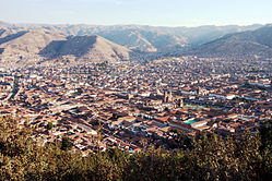 Cusco skyline