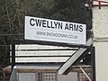 Cwellyn Arms sign - geograph.org.uk - 1552211.jpg
