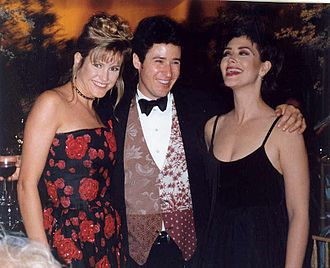 Northern Exposure - Cynthia Geary, Rob Morrow, and Janine Turner at the 1993 Emmy Awards